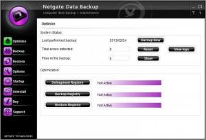 Enlarge Netgate Data Backup Screenshot
