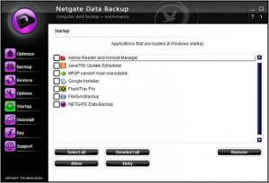 Enlarge Netgate Data Backup Screenshot