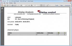 Enlarge Airplay Control Screenshot