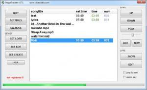 Enlarge StageTracker Screenshot