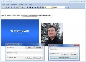 Enlarge eDocument Screenshot