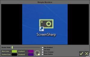 Enlarge ScreenSharp Screenshot