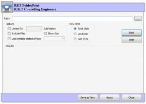Enlarge RKT Folder Print Screenshot