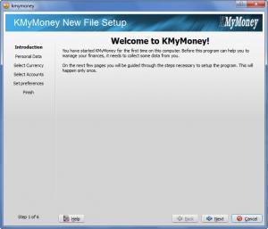 Enlarge KMyMoney Screenshot
