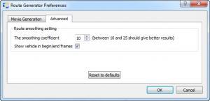 Enlarge Route Generator Screenshot