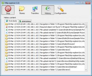 Enlarge Http Explorer Screenshot