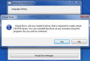 Enlarge Virtual Drive Screenshot