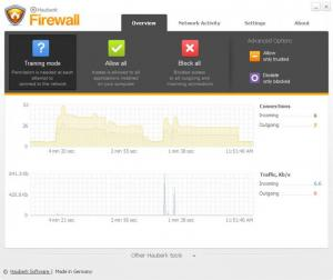 Enlarge Hauberk Firewall Screenshot