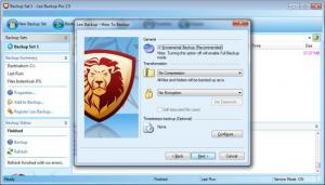 Enlarge Leo Backup Screenshot