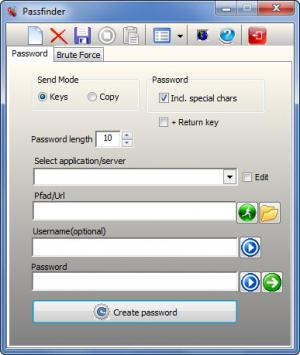 Enlarge Passfinder Screenshot