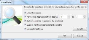 Enlarge CurveExpert Screenshot