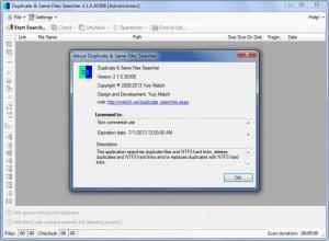 Enlarge Duplicate & Same Files Searcher Screenshot
