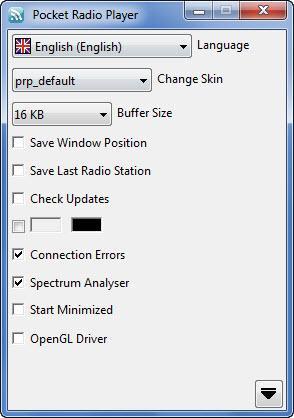 Enlarge Pocket Radio Player Screenshot