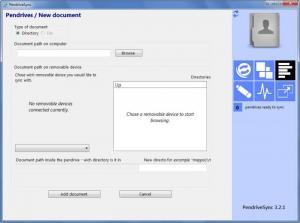 Enlarge PendriveSync Screenshot