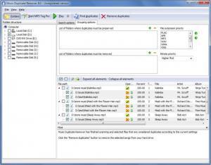 Enlarge Music Duplicate Remover Screenshot
