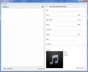 Enlarge Music Tag Screenshot