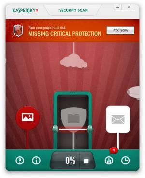 Enlarge Kaspersky Security Scan Screenshot