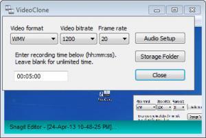 Enlarge VideoClone Screenshot