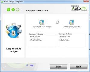 Enlarge Memeo AutoSync Screenshot