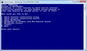 Enlarge NetChecker Screenshot