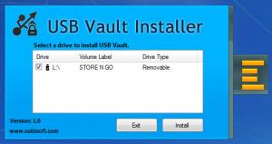 Enlarge USB Vault Screenshot