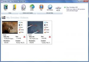 Enlarge Smideo Screenshot