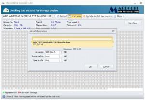 Enlarge Macrorit Disk Scanner Screenshot