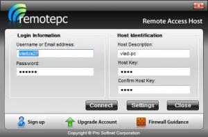 Enlarge Remote Access Host Screenshot