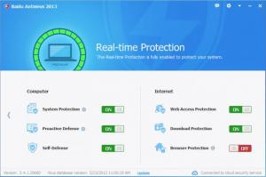 Enlarge Baidu Antivirus Screenshot