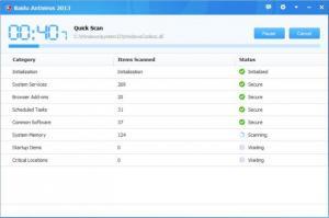 Enlarge Baidu Antivirus Screenshot