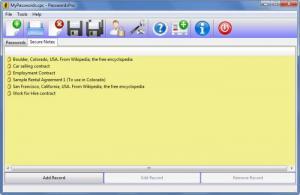 Enlarge Passwords Pro Screenshot