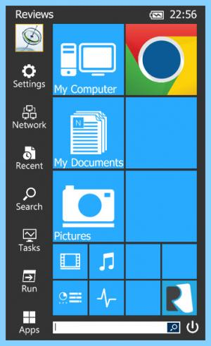Enlarge Start Menu Reviver Screenshot
