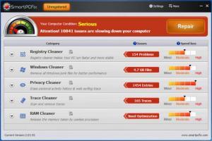 Enlarge SmartPCFix Screenshot