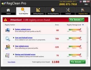 Enlarge RegClean Pro Screenshot