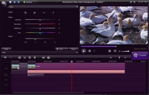 Enlarge Wondershare Video Editor Screenshot