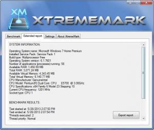 Enlarge XtremeMark Screenshot