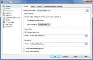 Enlarge UMPlayer Screenshot