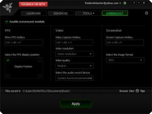 Enlarge Razer Game Booster Screenshot