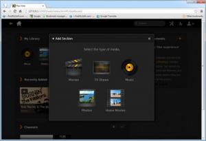 Enlarge Plex Media Server Screenshot