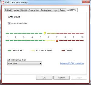 Enlarge IKARUS anti.virus Screenshot