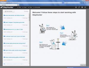 Enlarge StepHunter Screenshot