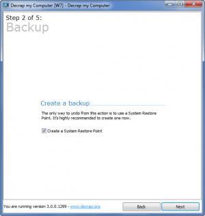 Enlarge Decrap my Computer Screenshot