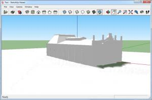Enlarge SketchUp Viewer Screenshot