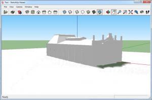Enlarge SketchUp Viewer Screenshot