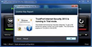 Enlarge TrustPort Internet Security Screenshot