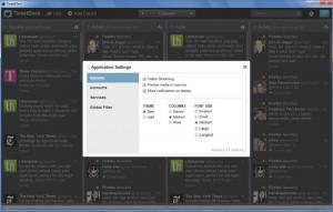 Enlarge TweetDeck Screenshot