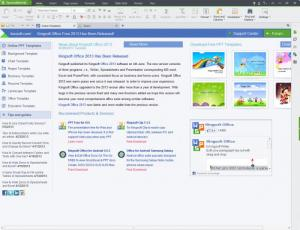 Enlarge Kingsoft Office Suite Free 2013 Screenshot