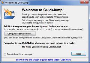 Enlarge QuickJump Screenshot