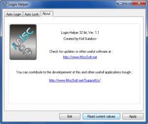 Enlarge Login Helper Screenshot