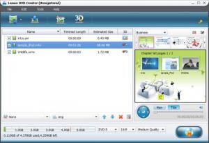 Enlarge Leawo DVD Creator Screenshot